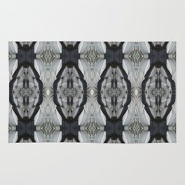 Duck Feather Pattern Rug