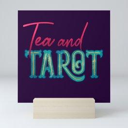 Kelly-Ann Maddox Collection :: Tea and Tarot (Simple) Mini Art Print