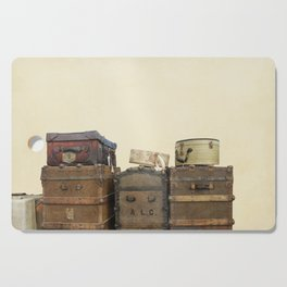 Steamer Trunks and Vintage Luggage Cutting Board