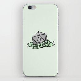 Dungeon Master D20 iPhone Skin