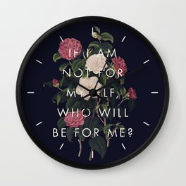 The Theory of Self-Actualization I Wall Clock