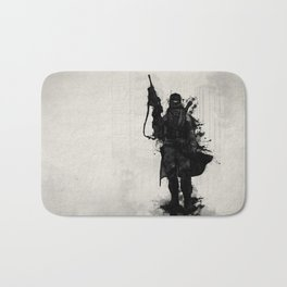 Post Apocalyptic Warrior Bath Mat