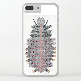 caterpillar of Indian fritillary Clear iPhone Case