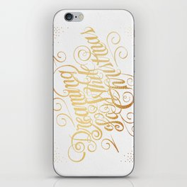 Dreaming of a White Christmas iPhone Skin