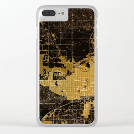 Marshalltown antique map year 1960, united states old maps Clear iPhone Case