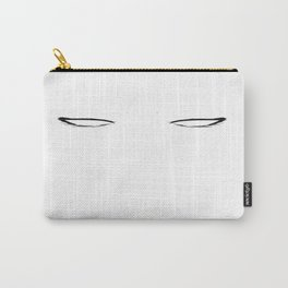 Blank Eyes Carry-All Pouch