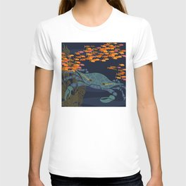 crab with kelp T-shirt