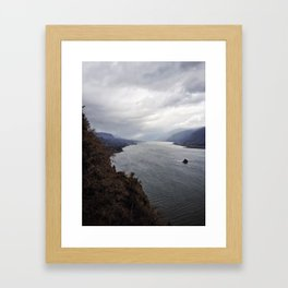 The Infectious Melancholy Framed Art Print