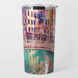 Small Bridge in Venice Travel Mug