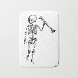 Skeleton of Social Justice Bath Mat