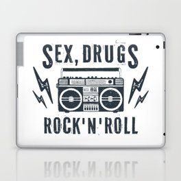 Sex, drugs and rock'n'roll Laptop & iPad Skin