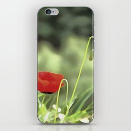 One Poppy iPhone Skin