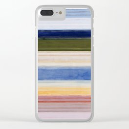 Colorbands Yellowstone Light Pink Clear iPhone Case