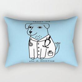 Dogtor Rectangular Pillow