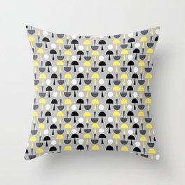 Magic Mushrooms - small Throw Pillow