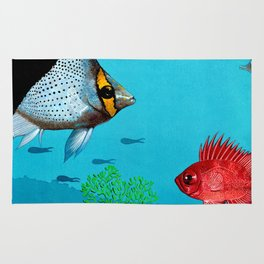 Butterfly & Bigeye fishes Rug