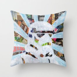 Trooper of the Storm Throw Pillow