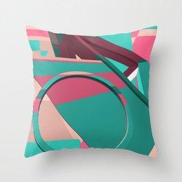 80ies music Throw Pillow