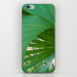 Curvy Fern Jungle Style iPhone Skin