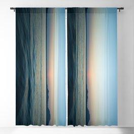 Subtle sunset Blackout Curtain