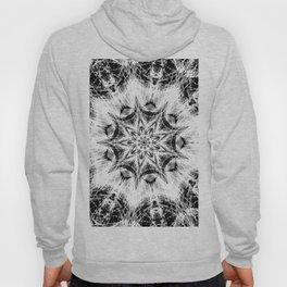 Atomic Black Center Swirl Mandala Hoody