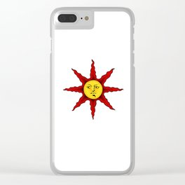 Praise the sun Clear iPhone Case