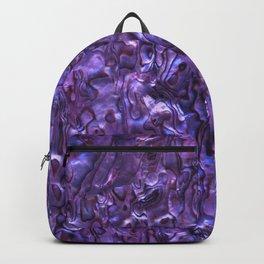 Abalone Shell | Paua Shell | Violet Tint Backpack