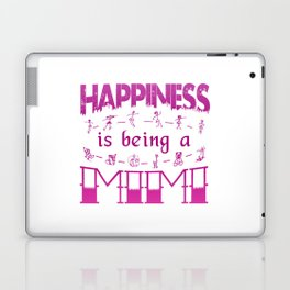 Happiness is Being a MIMI Laptop & iPad Skin
