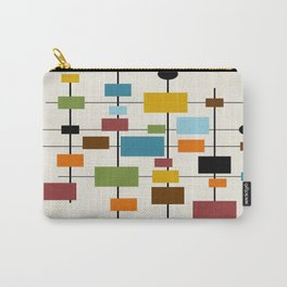 Mid-Century Modern Art 1.3 Carry-All Pouch