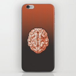 Puzzle brain GINGER / Your brain on puzzles iPhone Skin