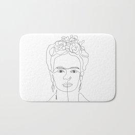 Doña Frida Kahlo Bath Mat