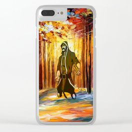 handsome art Clear iPhone Case
