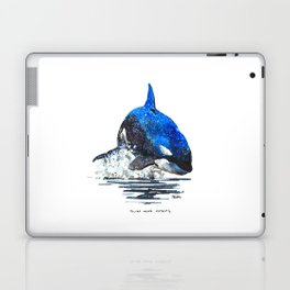 You're Never Nothing Laptop & iPad Skin