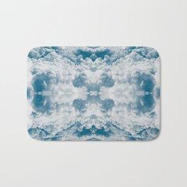 Heavenly Clouds Mandala | X Marks the Spot Bath Mat