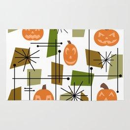 Halloween Mid Century Modern Rug