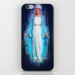 The Virgin Mary iPhone Skin