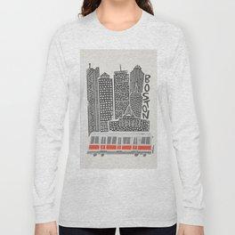 Boston City Illustration Long Sleeve T-shirt