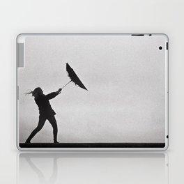 Through Thick & Thin - fine art black and white film photography grain Laptop & iPad Skin