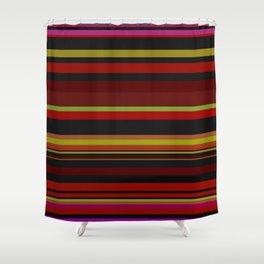 Lines 6 Shower Curtain