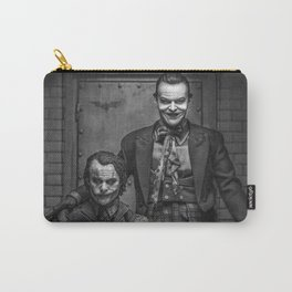 The Jokers in black and white Carry-All Pouch