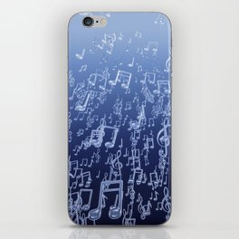 Aquatic Chords iPhone Skin