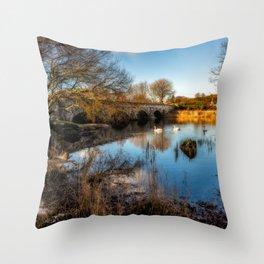 Pont Pen y Llyn Bridge Throw Pillow
