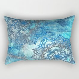 Lost in Blue - a daydream made visible Rectangular Pillow