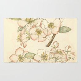 "Charles Rennie Mackintosh ""Flowers & Plants"" (1) Rug"