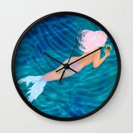 BRB Babe Wall Clock
