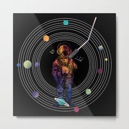 Musical Solar System Metal Print