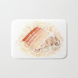 Ombre Cake Slice Bath Mat