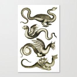 Serpents Canvas Print