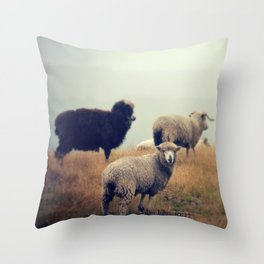 My Sheep Throw Pillow