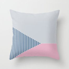 Tri 5 Throw Pillow